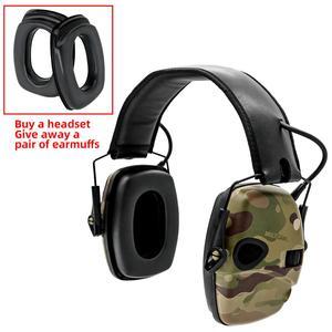 Image 5 - Orejeras tácticas electrónicas para caza, auriculares tácticos para caza, antiruido, amplificación del sonido, protección auditiva