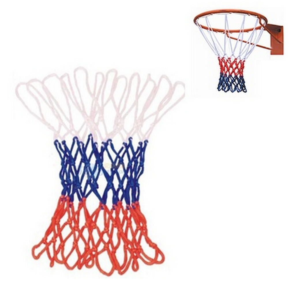 48 см * 12*5 узлов высокое качество жирный Тип прочная стандартная нейлоновая нить спортивный баскетбольный обруч сетчатая сетка обод мяч для ...