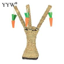 Pet Cat Toys Chew Radish Kitten Teeth Care Chewing Interactive Tree Tower Shelves Climbing Frame Scratching Post Carrot