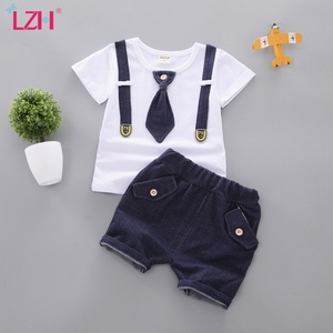 Kids Clothes For Boys Clothing Sets 2020 Summer Baby Boys Clothes Casual Gentleman 2pcs Outfits Children Sport Suit 1 2 3 4 Year