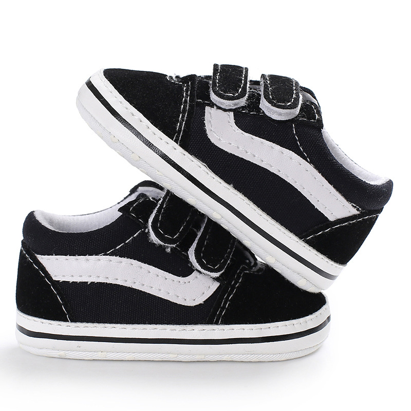 Brand New 2020 Cute Toddler Kids Canvas Sneakers Baby Boy Girl Soft Sole Crib First Walker Shoes Anti-slip Lovely 0-18Months