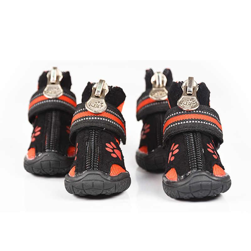 Обувь для больших собак с золотым запасом Mullabrador, 8 размеров, обувь для больших собак, обувь для домашних животных, противоскользящая и износостойкая продукция для домашних животных, пинетки для собак