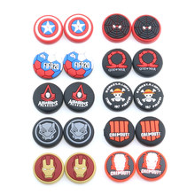 Thumb Stick Grip Cap Thumbstick Joystick Cover Case For Sony Dualshock 5/4/3 PS5 PS4 Slim PS3 Xbox One 360 Switch Pro Controller
