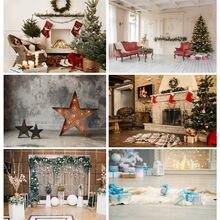 Виниловый фон shuozhike 20826sd 02 для рождественской фотосъемки