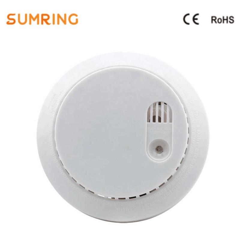 Smoke Sensor Alarm Home Standalone Security Safety Smoke Detector Fire Alarm With Siren