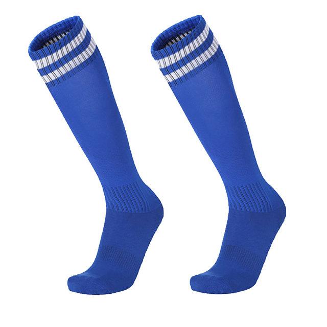 Adults Children Breathable Anti-Slip Soccer Football Sports Long Tube Socks New Chic