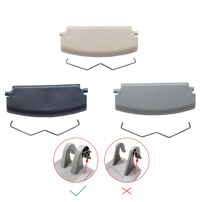 Tapa para Reposabrazos de coche, pestillo de cubierta para consola Audi A4, B6, B7, accesorios para consola de Auto Centre, color negro/gris/Beige