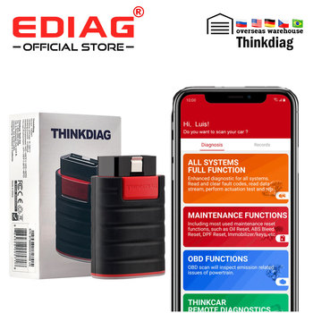 NEW THINKCAR Thinkdiag same as easydiag 3.0 X431 Bluetooth adapter update online full system OBD2 Scanner Diagnostic Tool launch x431 pro mini with bluetooth function full system 2 years free update online mini x 431 pro powerful auto diagnostic tool