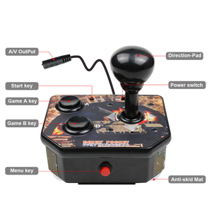 Image 2 - Arcade Joystick Gamepad Video Game Console mini retro handheld portable classic game console handheld player with 180 games