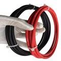 Бесплатная Доставка! 16mm2 солнечный pv кабель красный черный PV солнечный кабель 10mm2 6mm2 используется для решетки и сетки подключенных PV системы