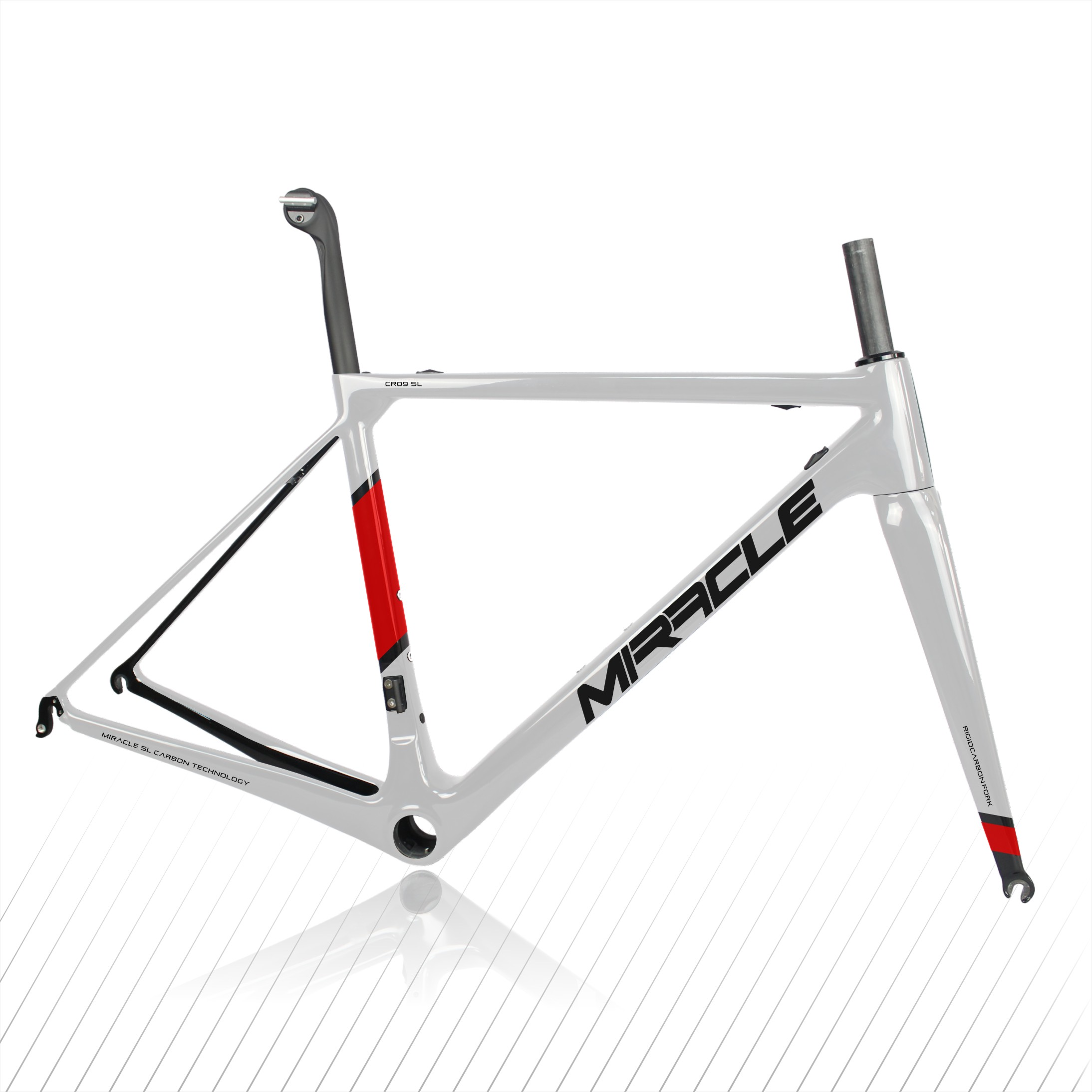 High Quality Full Carbon Road Bike Frame Set,T1000 Super  Light Weight Carbon Bicycle Frame ,Free Shipping Carbon Frame