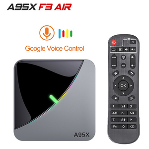 A95X F3 Air TV Box Android 9.0 8K RGB Light Amlogic S905X3 4GB 64GB Wifi 4K Box Androaid tv Media player X3 BOX