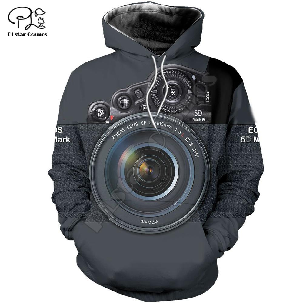 Mens Women Camera Lens 3d All Over Printed Hoodies Unisex Long Sleeve Sweatshirts Jacket Warrior Pullover Tracksuit