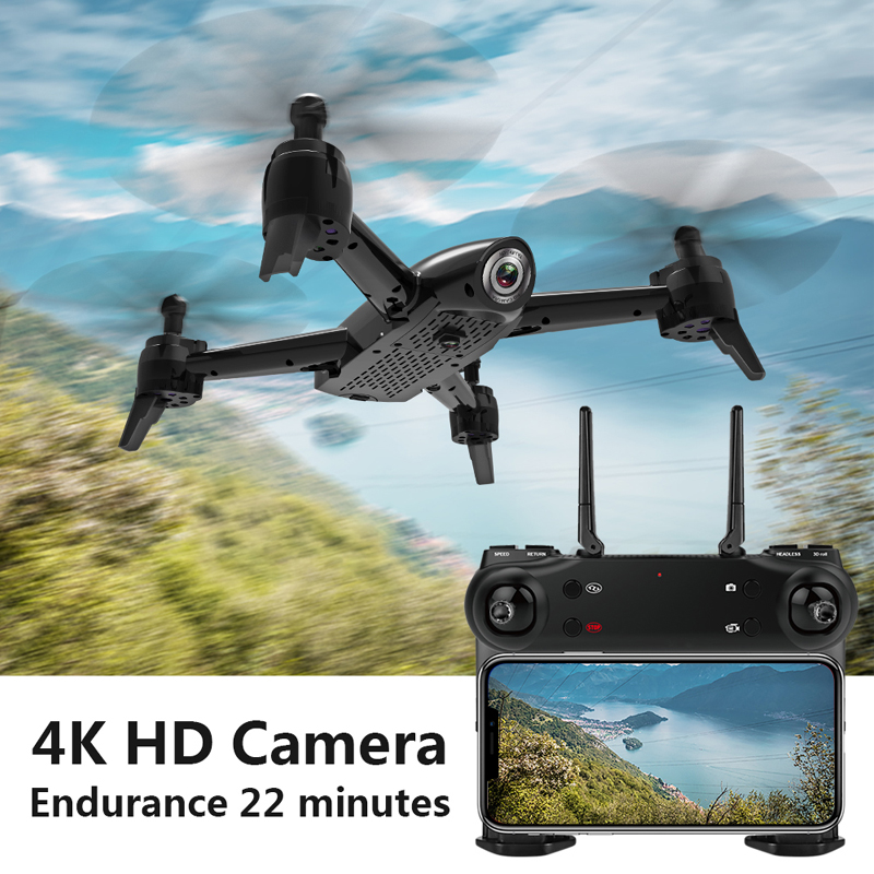 SG106 WiFi Drones With Camera 4K Dual Camera Optical Flow Aerial Video Helicopter RC Quadcopter For Toys Kid RTF Dron 4k Drone 5