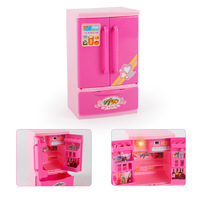 Model Kitchen Kitchenware Refrigerator Bread Machine GIRL'S And BOY'S Small Appliances Play House Food CHILDREN'S Toy 3 7 Year O