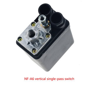 "Image 2 - 1/4 ""normalde kapalı 220/380V 20A 90 125PSI hava kompresörü basınç kontrol anahtarı vana plastik kabuk"