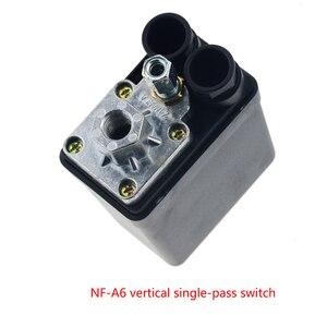 Image 2 - Valve de commutateur de contrôle de pression pour compresseur dair, 1/4 pouces, 220/380V, 20A 90 125PSI, coque en plastique