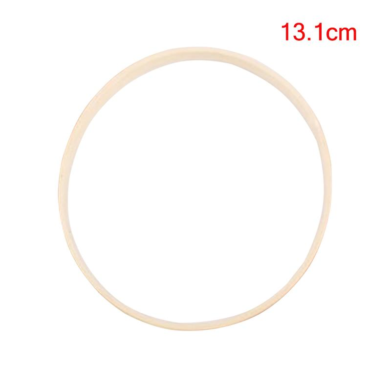 1pc Dream Catcher Ring Bamboo Circle Round DIY Art Craft Embroidery Hoop Cross Stitch Sewing Manual Tool (13.1cm)