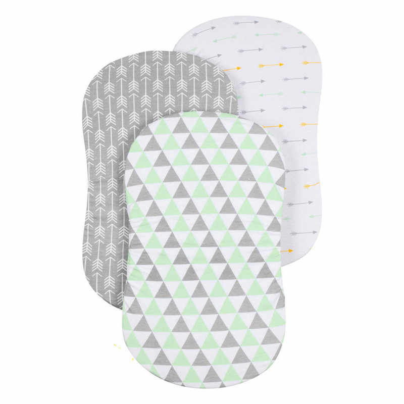 baby bedding set Soft Baby Bassinet Set Cradle Fitted Sheets for Mattress Pads Sleeper Cover baby bed Covers #4D02