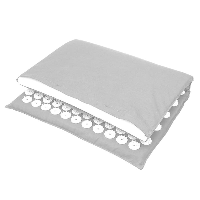 Acupressure Massage Mat with Pillow set to body Relaxation to Release Stress and Tension 29