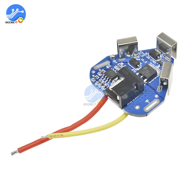 BMS 3S 12.6V 6A 18650 Li-ion Lithium Battery Charger Protection Board Power Bank Balancer Equalizer for Motor Drill 3