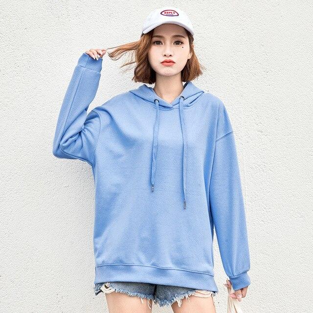 2020 New Winter Autumn Sweatshirt Hoodies Women Hoody Female Fleecce Sudaderas Winter Women's Hoodies Full Sleeve Hoodie 2