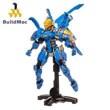Buildmoc Technicle güvenlik kaptan hava savaş zırh yapı taşları Creator City kontrol silah tuğla oyuncaklar çocuklar için