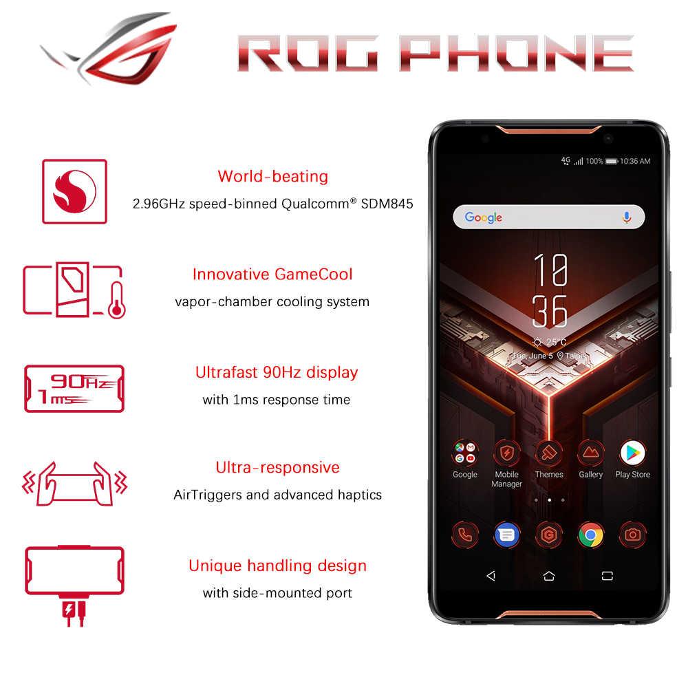 ASUS ROG Điện Thoại ZS600KL Chơi Game Điện Thoại Smartphone RAM 8GB 128 GB/512 GB ROM Snapdragon™845 Adreno™630 NFC 4000mAh Android 8.1