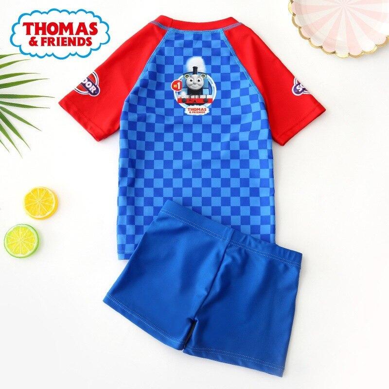 KID'S Swimwear BOY'S Children Split Type Tour Bathing Suit Baby Boy Cartoon Swimwear Swimming Trunks Set