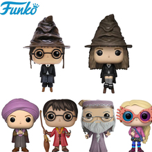Funko POP Harry Ron Snape Luna Dobby Vinyl Action Figure Collection Model Brinquedos Toys Birthday Christmas Gifts 2F02 harry potter theme keychain action figure collectible model vinyl dolls hermione jean granger severus snape