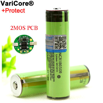 New Protected 18650 NCR18650B 3400mah Rechargeable battery  3.7V with PCB For Flashlight batteries free shipping brand new 10pcs lot 100% genuine panasonics ncr18650b 3 6v 3400mah li ion rechargeable battery for led lights