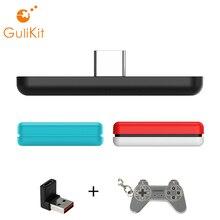 Gulikit NS07 Bluetooth 5.0 Route Air Draadloze Audio Usb Zender Adapter Voor Nintendo Switch Schakelaar Lite PS4 Pc