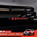 06-21 год Toyota FJ Cruiser снаружи модификации высокие стоп-сигналы светильник единый светильник s абажур защита наклейки украшения патч