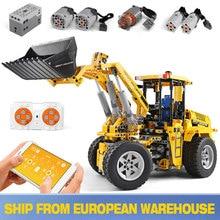 20006 Technic Series  L350F Wheel Loader Model 1636Pcs Building Set Blocks Bricks APP RC car Toys Gifts Compatible with  42030