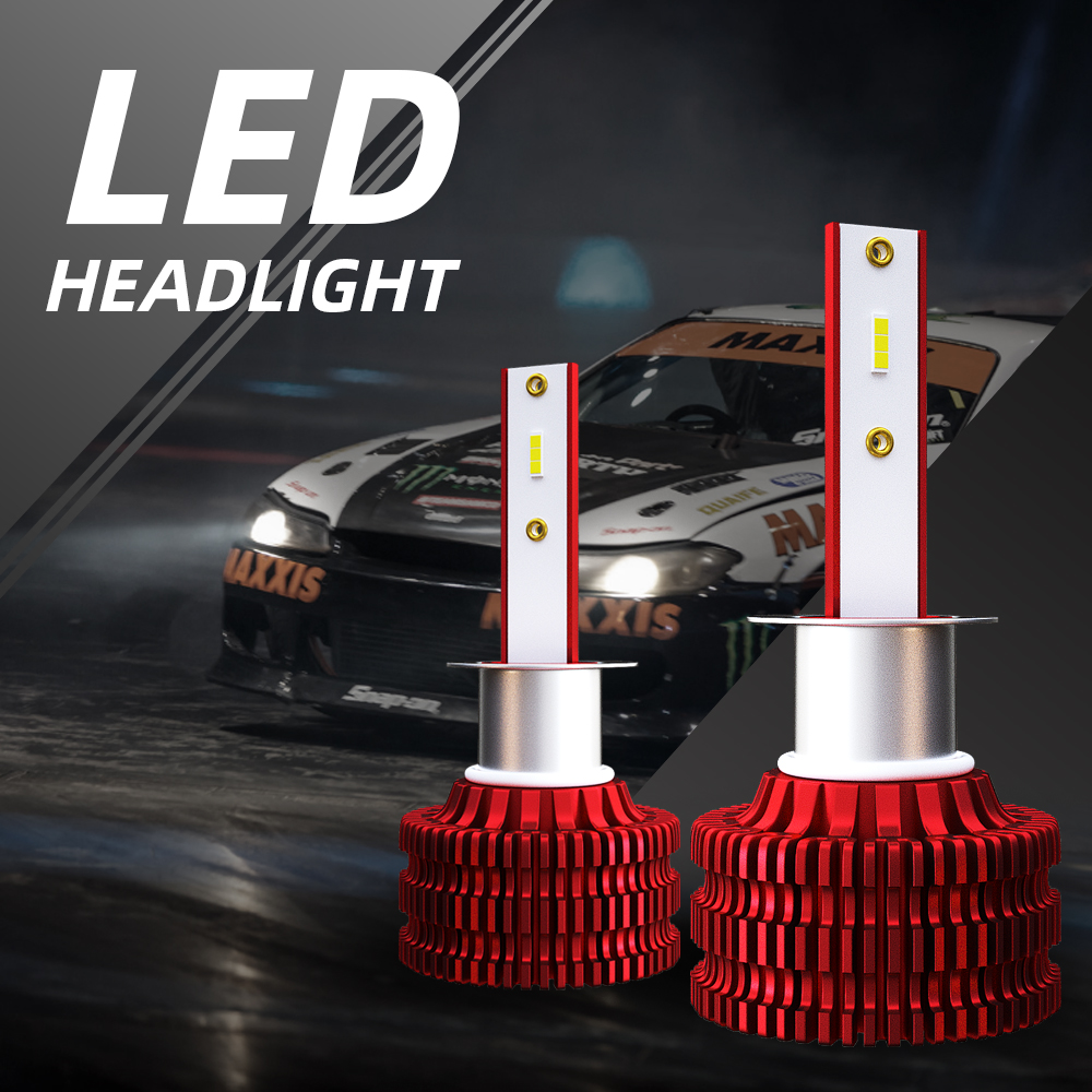 Car K5 LED Car Light LED Bulb H1 H4 <font><b>H7</b></font> H11 LED Headlight Bulb Kit 9005 9006 Headlight <font><b>2000LM</b></font> 6000K 18W 36V Car Headlight image
