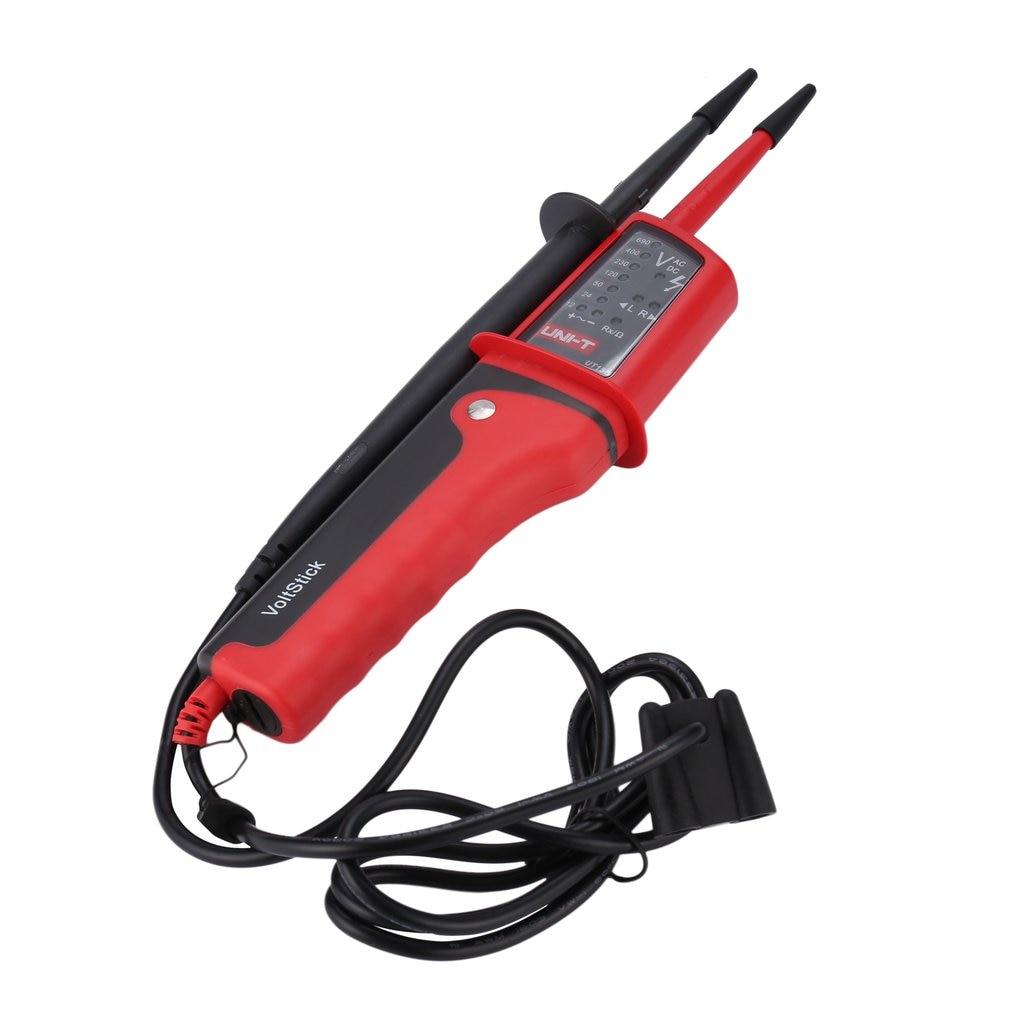 UNI-T Digital eléctrico de CA CC voltímetro pluma Mini multímetro de voltaje de mano a prueba de agua multímetro probador voltímetro