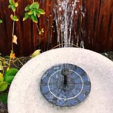 Насос для фонтана с солнечной батареей 180 мм энергосберегающий