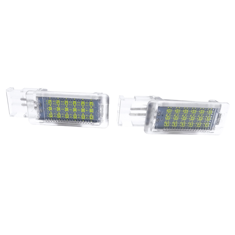 Fit for <font><b>VW</b></font> <font><b>Golf</b></font> <font><b>MK5</b></font> MK6 MK7 Jetta SCIROCCO Passat Polo cc 6R 6C 2 Pcs <font><b>LED</b></font> Footwell <font><b>Light</b></font> Boot glove box Lamp Car Accessories image