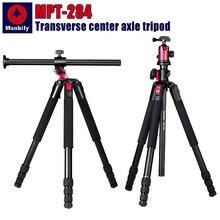 Manbily MPT 284 ขาตั้งกล้อง Professional Multi function แนวนอน Centering การถ่ายภาพสามเหลี่ยมสำหรับ Digital กล้อง SLR