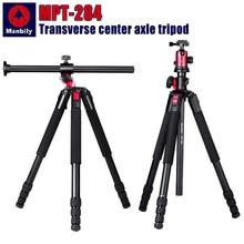 Manbily MPT 284 ترايبود المهنية متعددة الوظائف الأفقي توسيط التصوير مثلث قوس لكاميرات SLR الرقمية