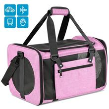 Travel Pet Carrier for Cat Dog Backpack Carrying Handbag For Small Outgoing Breathable Pets