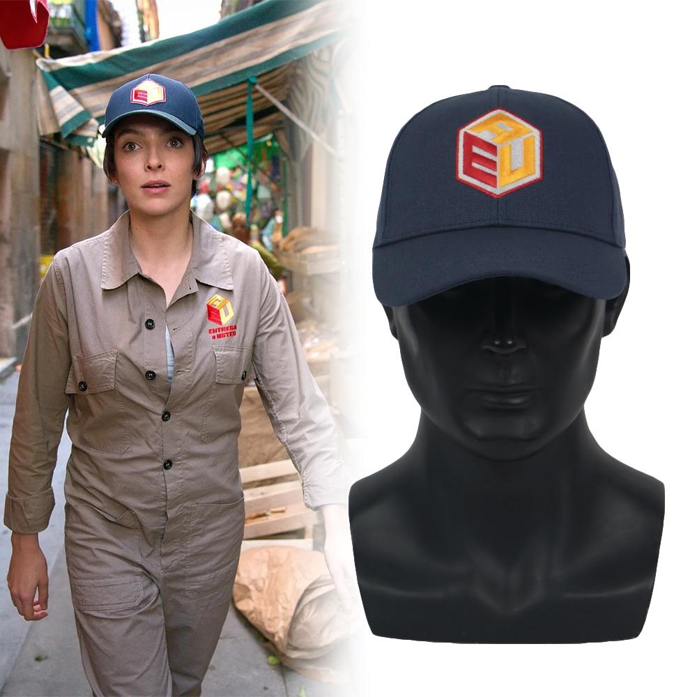 Cosplay Killing Eve Season 3 Villanelle Hat Embroidery Baseball Cap Sun Hat Prop