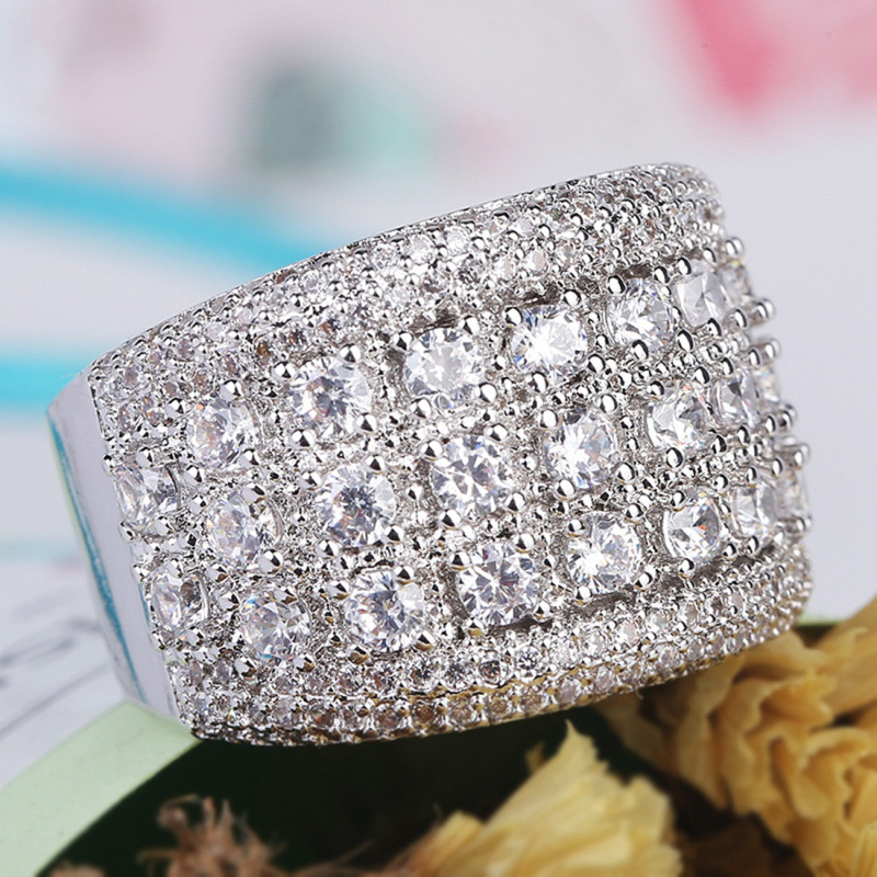 Fashion-Shining-CZ-Zircon-Ring-Elegant-Silver-Rhinestone-Ring-For-Women-Wedding-Party-Jewelry-Gifts-Size