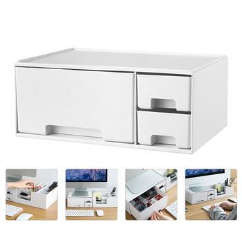 1Pc Monitor gospodarstwa domowego podwyższony stojak komputer zwiększona półka Monitor Rack (biały) tanie i dobre opinie Foxnovo CN (pochodzenie) 5 -10 10126496