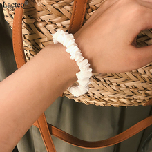 Lacteo Simple Minimalist Natural Sea Shell Barcelet Bangle for Women Statement Fashion 2019 Wrist Bracelet Female Jewelry Gifts