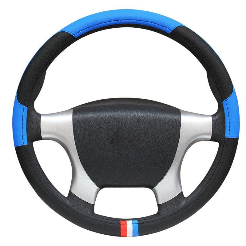 Auto Truck Car Steering-Wheel Car Styling Car Steering Wheel Cover Diameters 36 38 40 42 45 47 50 CM 7 Sizes to Choose Brain