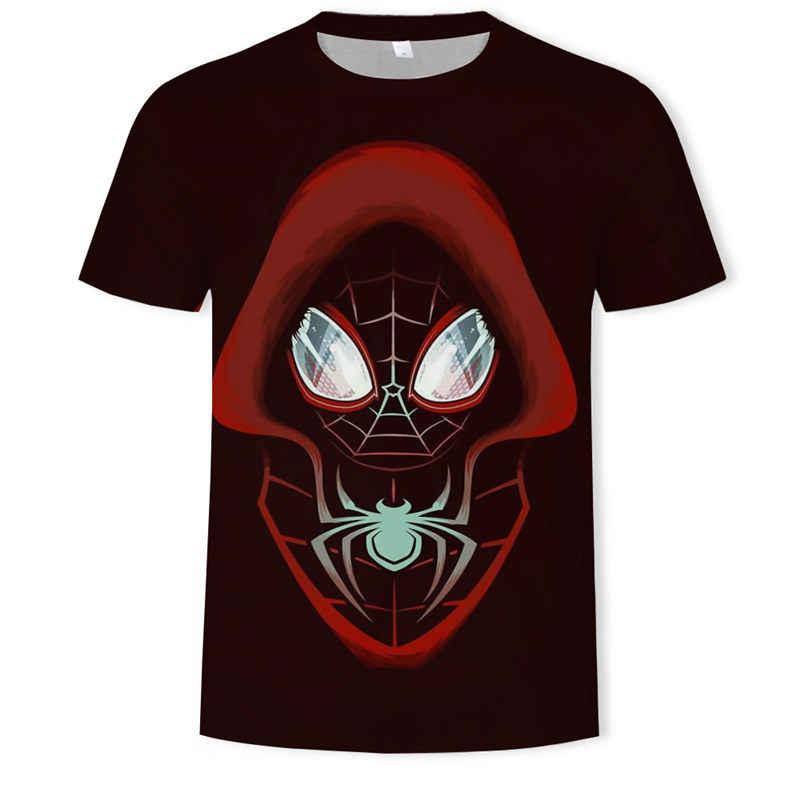 Mới 2019 Batman Spiderman Iron Man Siêu Nhân Đội Trưởng Mỹ Mùa Đông Người Lính Marvel3DT Áo Sơ Mi Avengers Trang Phục Truyện Tranh Siêu Anh Hùng Nam
