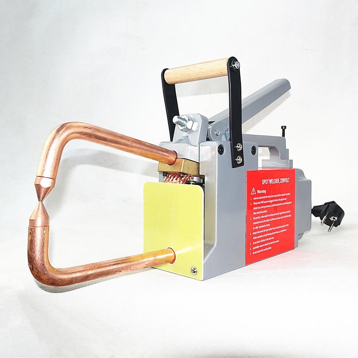 Machine de soudage par points de résistance 230 V/110 V épaisseur de soudage 1.5 + 1.5mm acier Plat CE soudeuse par points Portable
