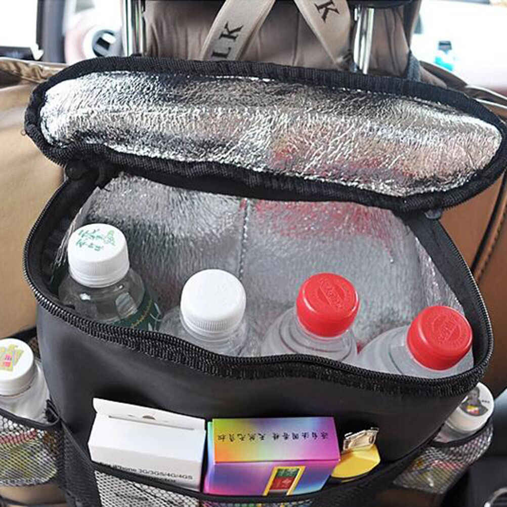 ポータブル折りたたみ車漫画後部座席収納袋旅行子供おもちゃ母ベビーケアインテリアプロテクター