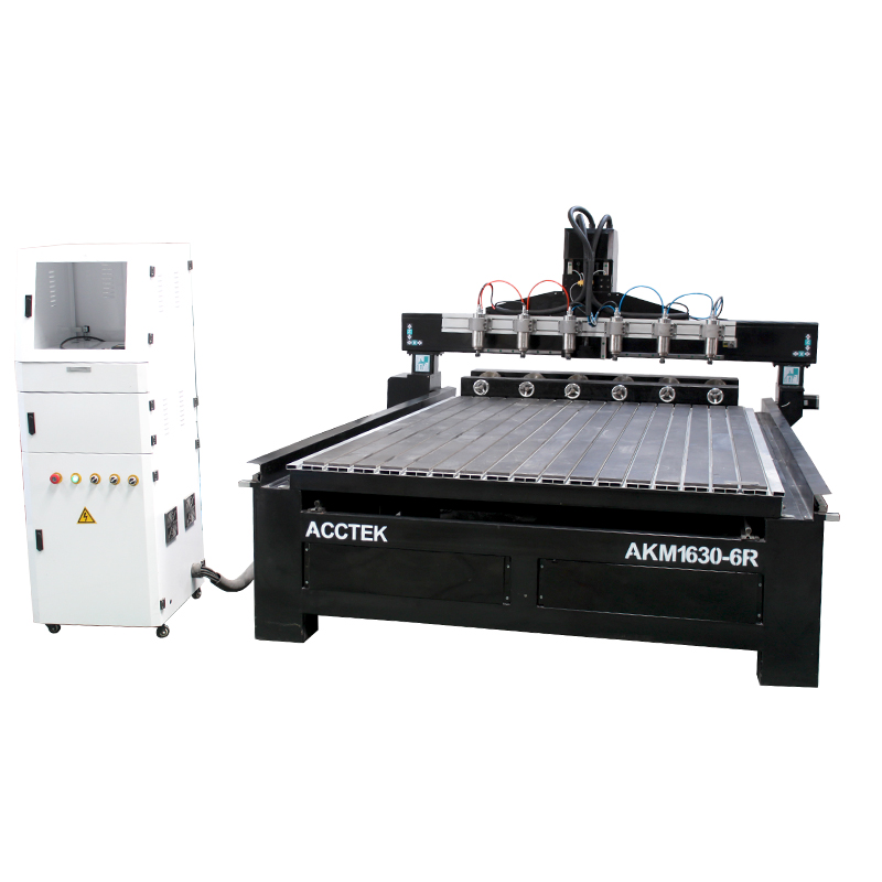 Cnc Router Multi Spindle Multi-heads Cnc 3d/water Coolied Cnc Router 6 Heads Wood 4 Axis Machine